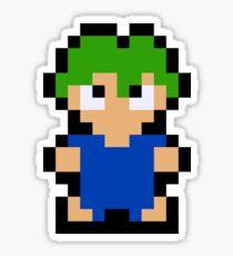 Pixel Lemming Sticker