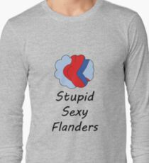 Sexy Flanders, The Simpsons Long Sleeve T-Shirt