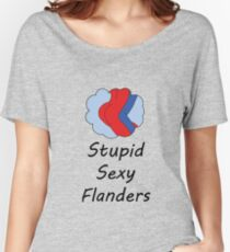 Sexy Flanders, The Simpsons Women's Relaxed Fit T-Shirt
