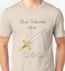 She Wants the D&D Unisex T-Shirt