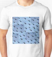 Helifly blue - Helimosca azul T-Shirt