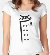 Chef Tunic Iconic Apparel Women's Fitted Scoop T-Shirt