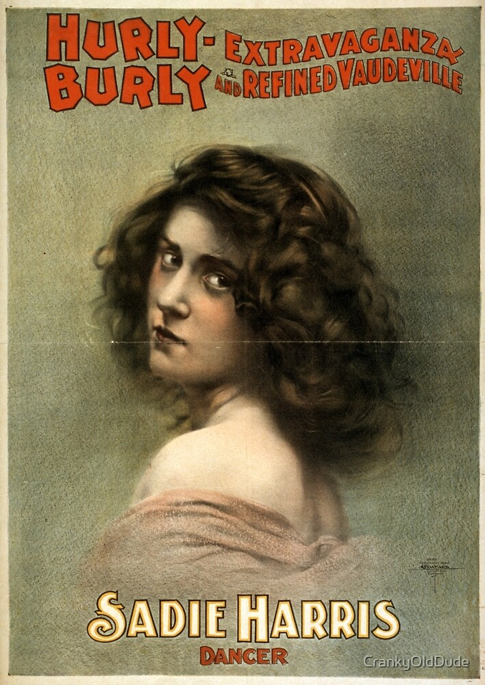 Hurly-Burly Extravaganza and Refined Vaudeville 7 - Courier - 1899 by CrankyOldDude