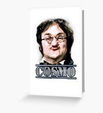 Cosmo Smallpiece - Les Dawson Greeting Card