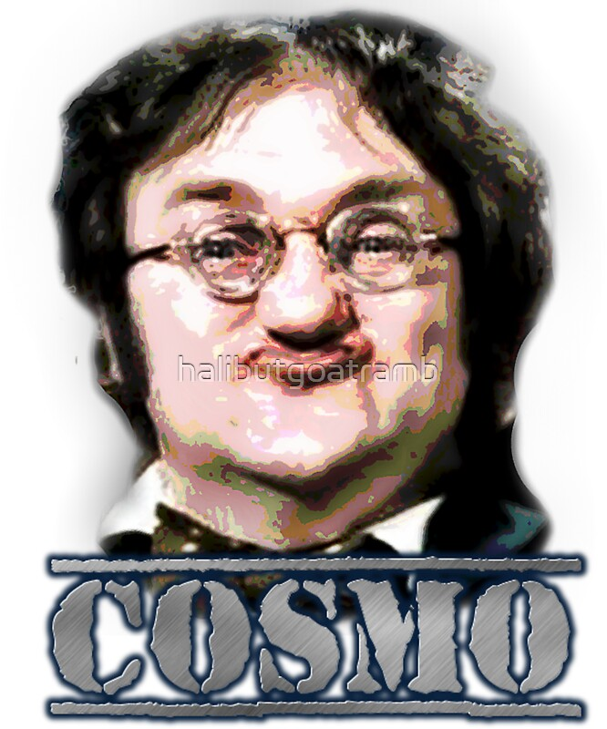 Quot Cosmo Smallpiece Les Dawson Quot Stickers By