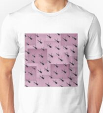 Helifly pink - Helimosca rosa T-Shirt