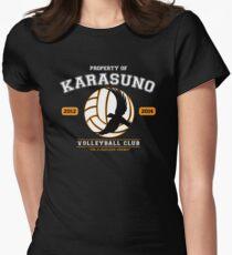 Team Karasuno Women's Fitted T-Shirt