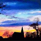 Village Sunset by shaz