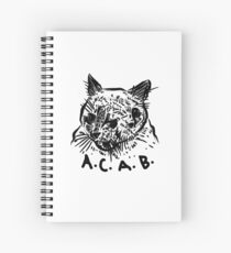 All Cats Are Beautiful Spiral Notebook
