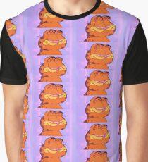 Faded Garfield Graphic T-Shirt