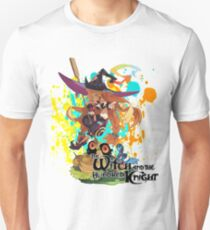 The Witch And The Hundred Knight Splatter T-Shirt