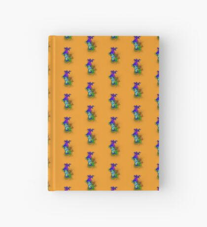 Vase of flowers #fractals Hardcover Journal