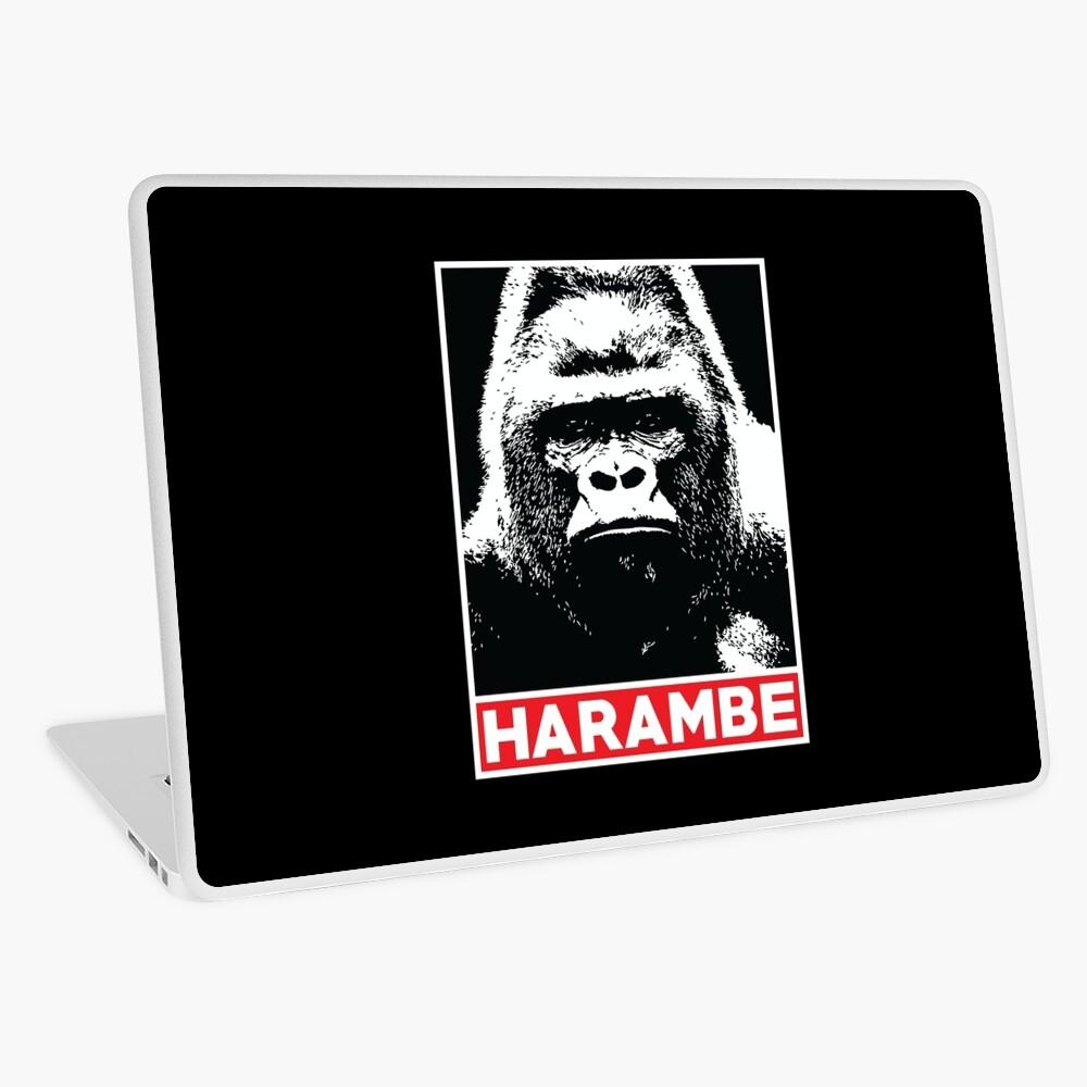 Harambe Gorilla Lover Laptop Folie