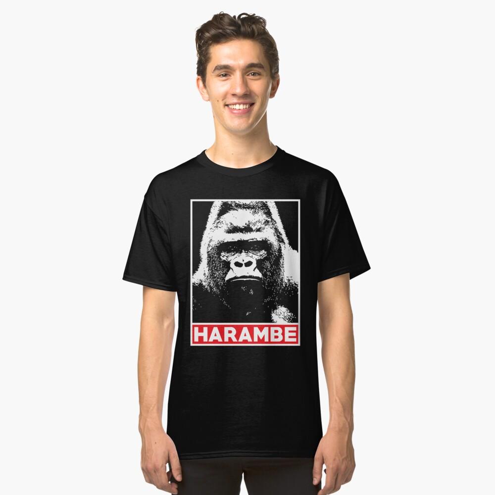 Harambe Gorilla Lover Classic T-Shirt