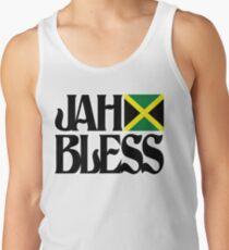 Jah bless  Tanktop für Männer