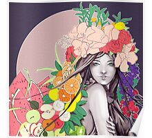 Flower Fruits Poster