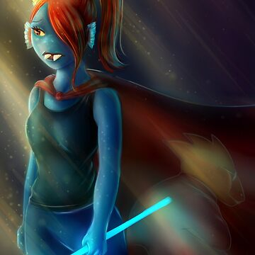 UNDERTALE - Queen Undyne by RobynRot-Art