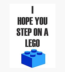 Lego  Photographic Print