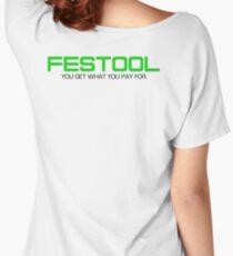 FESTOOL Women's Relaxed Fit T-Shirt