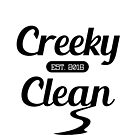 Creeky Clean (white version) by riomarcos