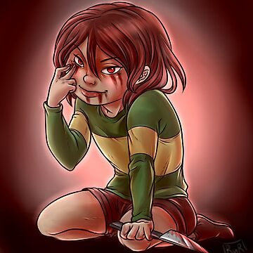 UNDERTALE - Chara by RobynRot-Art