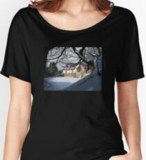 DREAMING OF DEVON IN THE SNOW Women's Relaxed Fit T-Shirt