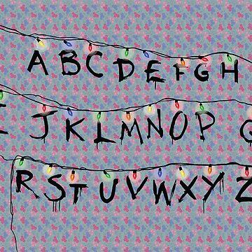 Stranger Things Alphabet by marsenroute
