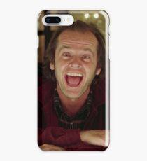 Jack Nicholson The Shining Still - Stanley Kubrick Movie iPhone 8 Plus Case