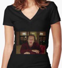 Camiseta entallada de cuello en V Jack Nicholson The Shining Still - Película de Stanley Kubrick