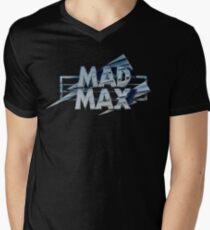 Mad Max film title Men's V-Neck T-Shirt
