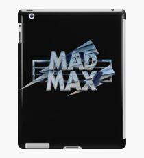 Mad Max film title iPad Case/Skin