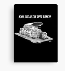 Mad Max Supercharger  Canvas Print
