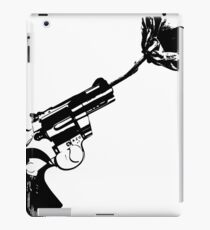 Less bullets iPad Case/Skin