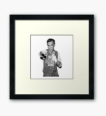 Straight Outta Science Bill Nye Framed Print