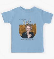 JD Salinger's Thatcher in the Rye Kids Tee