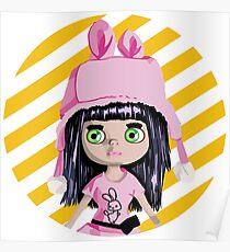 I love dolls: Blythe Poster