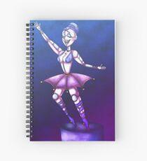 Ballora The Ballerina Spiral Notebook