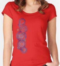 Dr Who's signature Women's Fitted Scoop T-Shirt