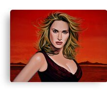 Kate Winslet Painting Canvas Print