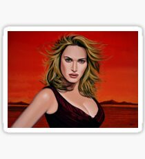 Kate Winslet Painting Sticker