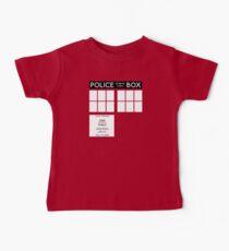 Tardis Doctor Who Baby Tee