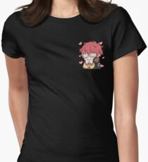 707 meow~ Women's Fitted T-Shirt