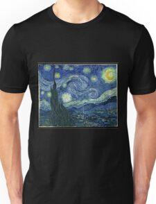 Vincent Van Gogh - The Starry night  Unisex T-Shirt