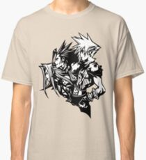 Sephiroth, Zack and Cloud Classic T-Shirt