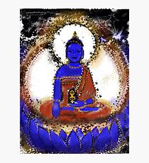 Akshobya, Blue Buddha of the Eastern Realm Photographic Print