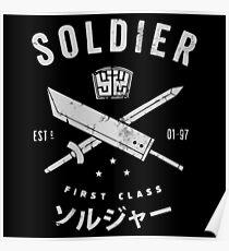 Midgar first class Poster