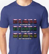 Back To The Tardis Panel Unisex T-Shirt