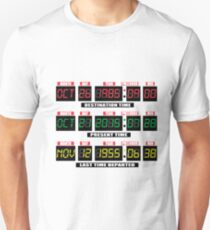 Back To The Tardis Panel T-Shirt