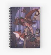 Midnight Witch Spiral Notebook