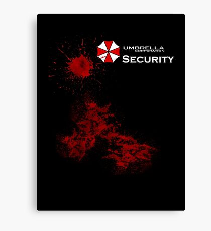 Resident Evil - Umbrella Canvas Print